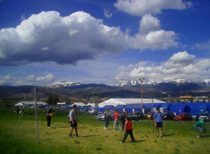 Nuvole e pallavolo