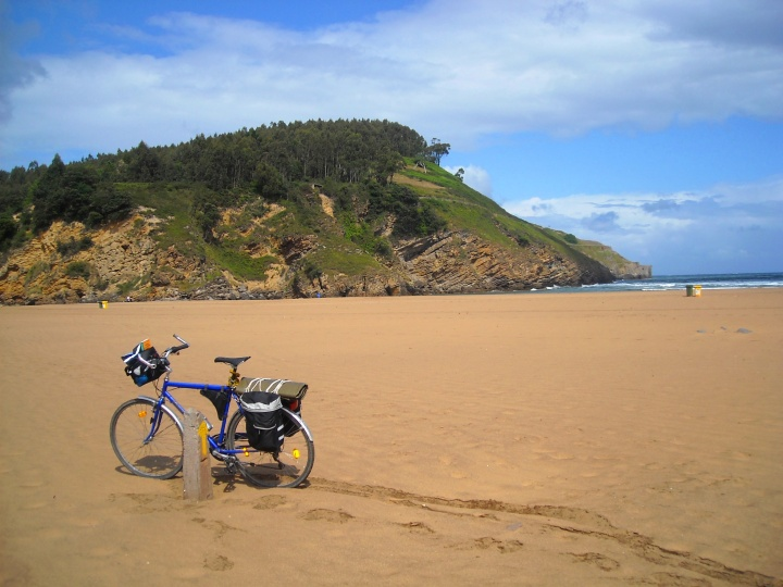 Bike on the beach