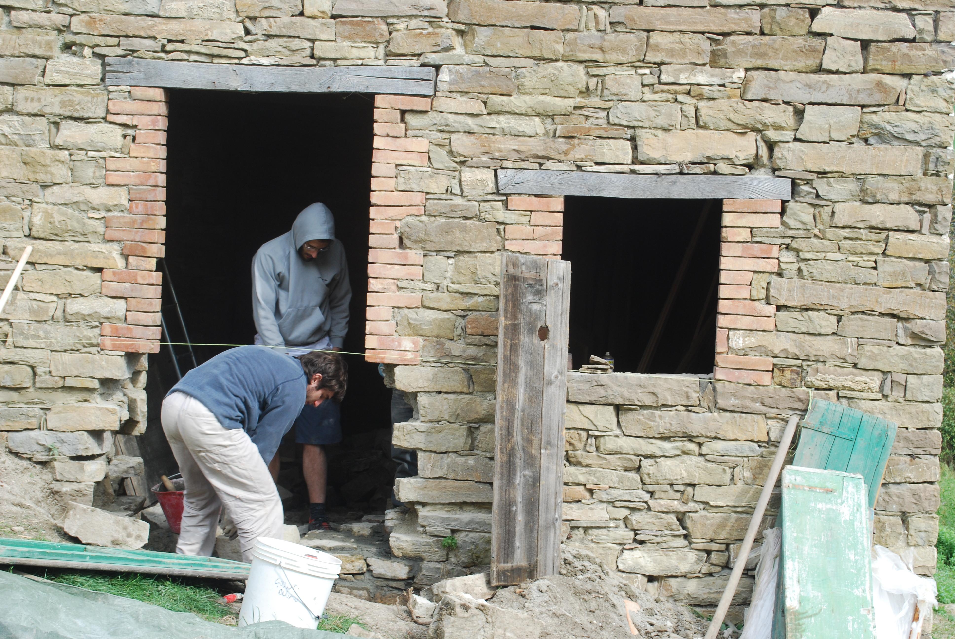 Pietra su pietra thin k freedom - Aprire finestra muro esterno ...