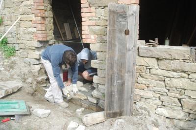 Pietra su pietra thin k freedom - Apertura vano in muratura portante ...