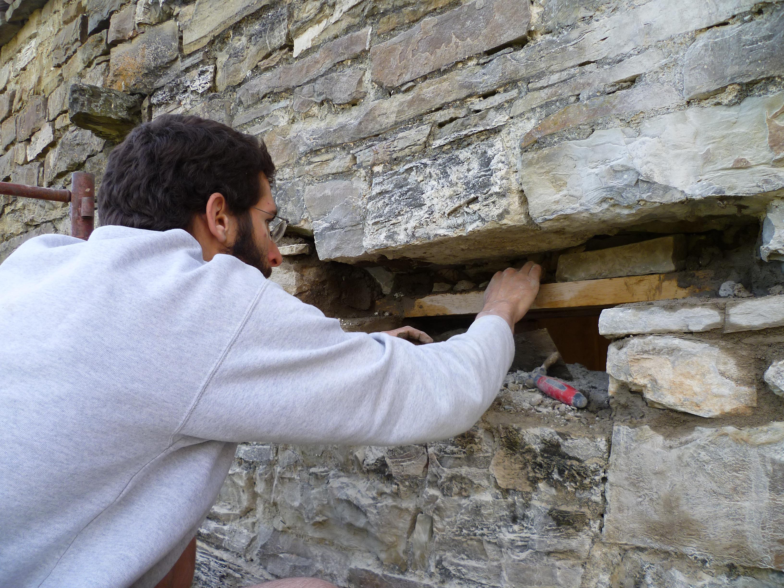 Pietra su pietra thin k freedom - Apertura porta su muro portante ...